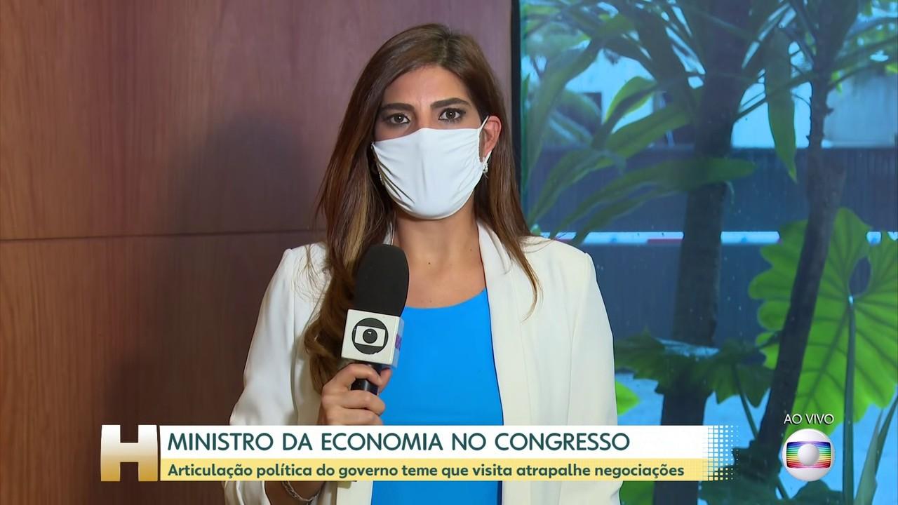 Articulação política do governo teme que visita de Guedes atrapalhe negociações