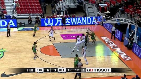 Clarissa garante mais dois pontos e partida chega a Canadá 6 x 5 Brasil