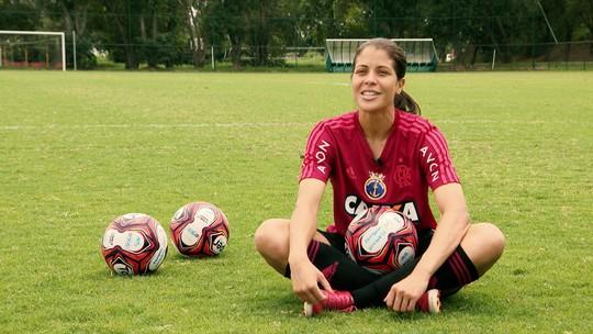 Faro de gol: conheça Dany Helena, a artilheira do Flamengo em 2018