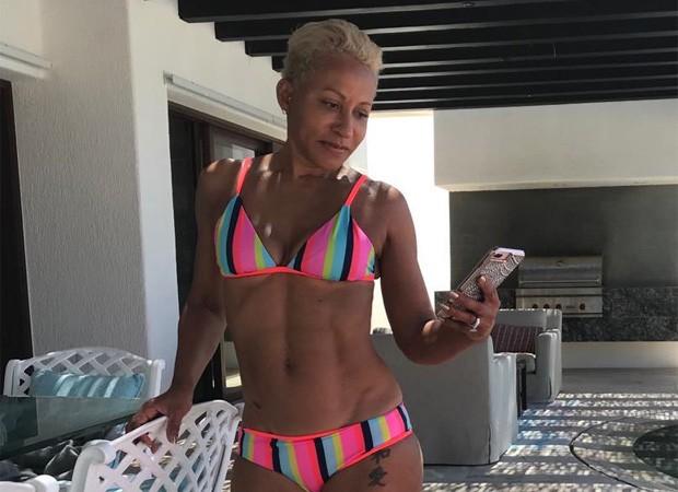 Adrienne Norris, mãe de Jada Pinkett Smith (Foto: Reprodução/Instagram)