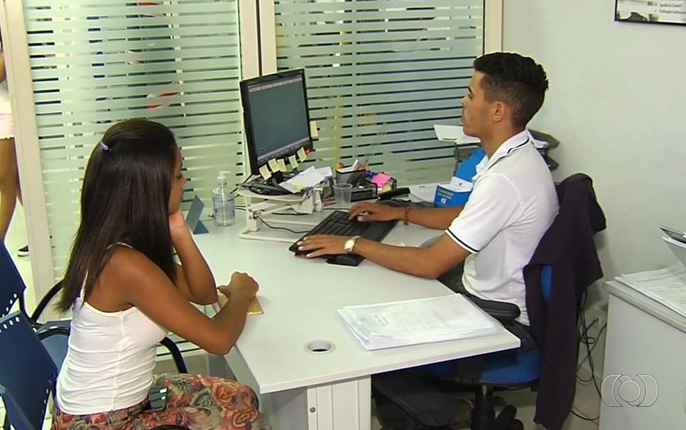 Inscrições começaram na segunda-feira — Foto: Reprodução/TV Anhanguera