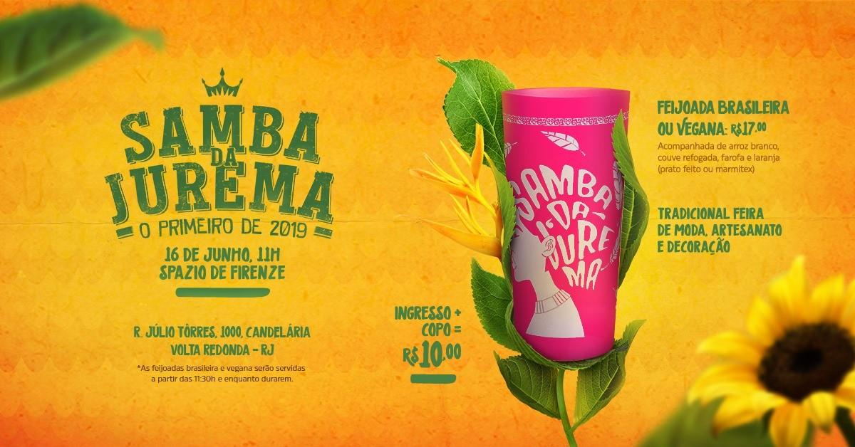 Samba de Jurema faz primeira apresentação do ano em Volta Redonda