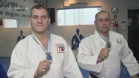 Judocas da Baixada Santista comemoram medalhas no Pan e Sul-Americano Master