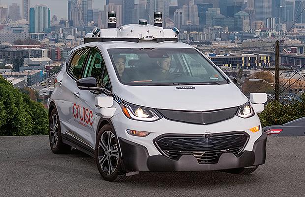 Protótipo do Cruise AV testado atualmente nas ruas de São Francisco pela GM (Foto: General Motors)