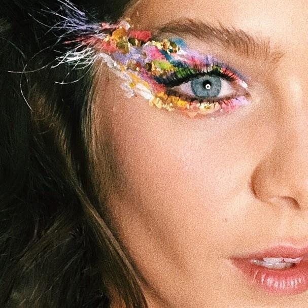 Inspiração das famosas para o make de Carnaval (Foto: Instagram/Reprodução)
