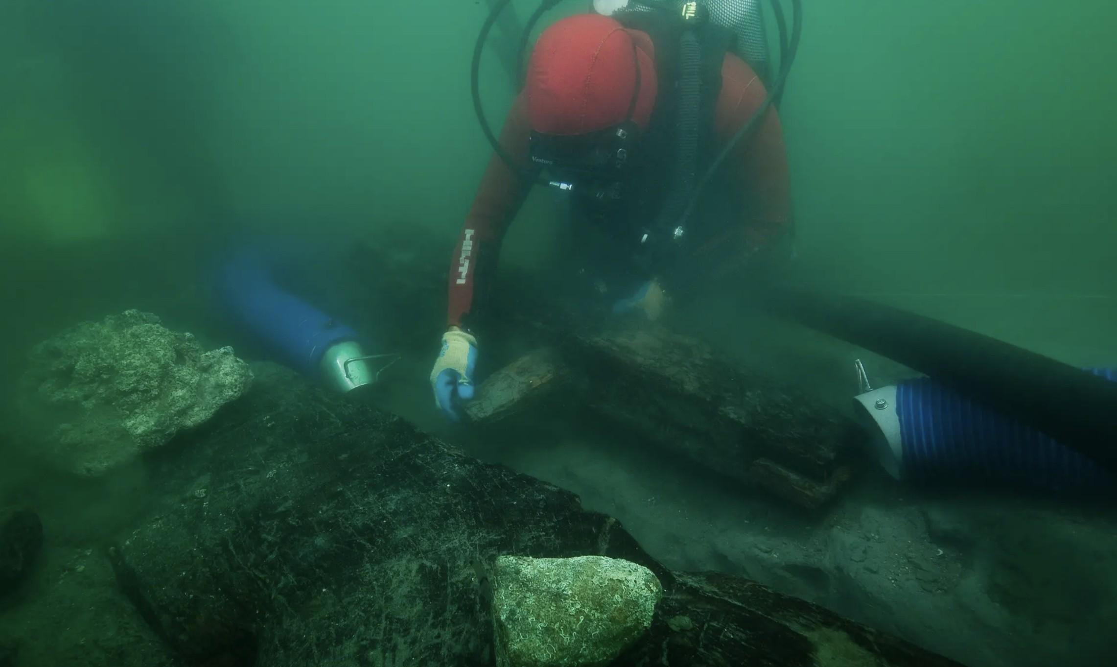 Arqueólogos encontraram embarcação que prova tese de Heródoto (Foto: Christoph Gerigk/Franck Goddio/Hilti Foundation/ Reprodução)