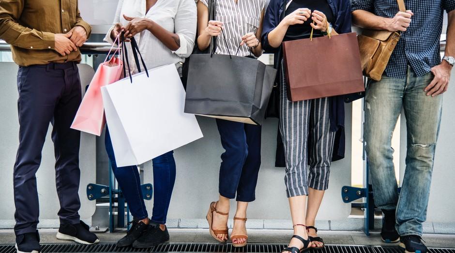 compras, consumo, sacolas (Foto: Reprodução/Pexels)