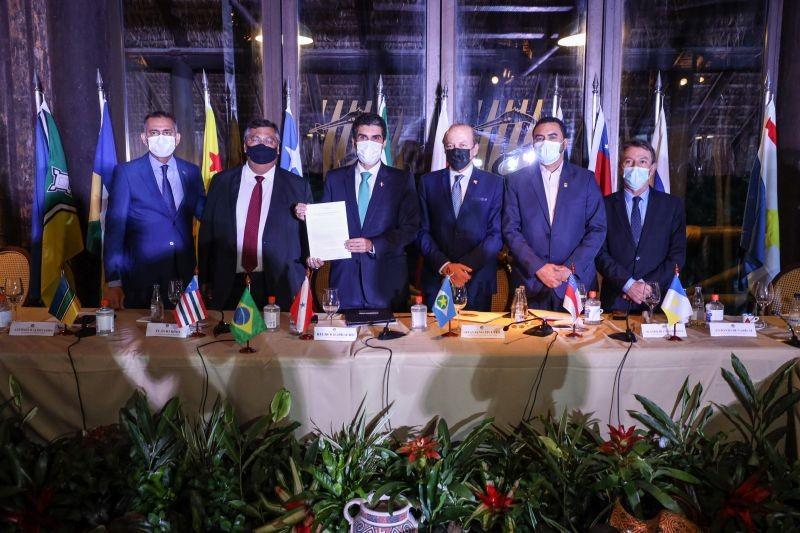 Governadores da Amazônia Legal devem apresentar ações para bioeconomia no COP26, diz Helder Barbalho