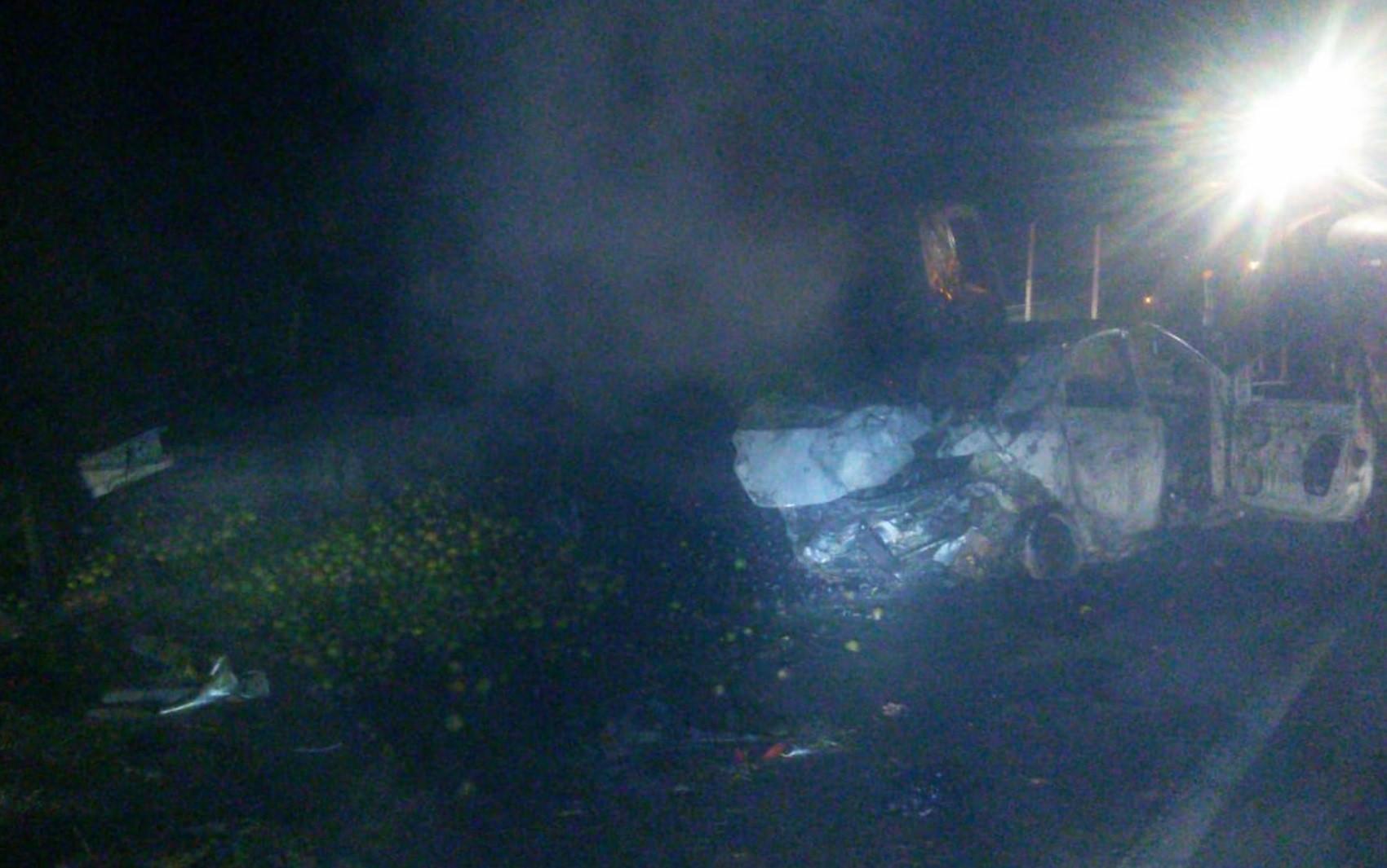Acidente deixa ao menos uma pessoa morta e quatro feridas na BR-060 em Alexânia, GO