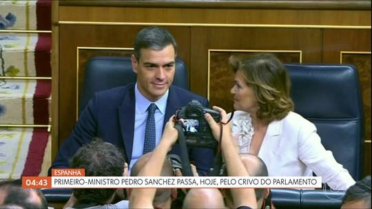Primeiro-ministro da Espanha passa pelo crivo do parlamento