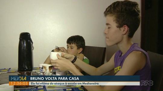 Adolescente ferido conta como foi ataque a tiros em colégio de Medianeira