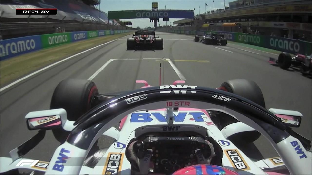 GP da Espanha: reveja detalhes da largada