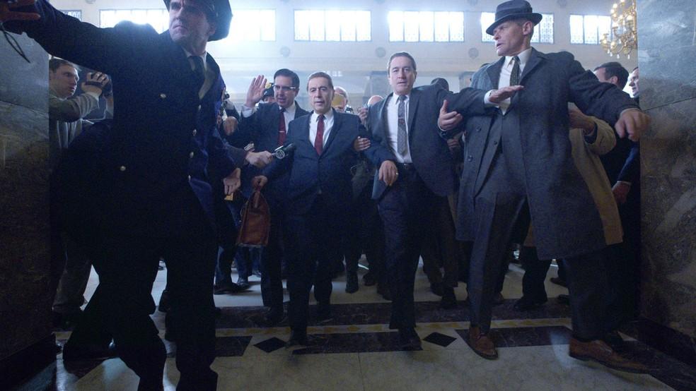 O Irlandês, novo filme de Scorsese, chega à Netflix no dia 27/11 — Foto: Divulgação/Netflix