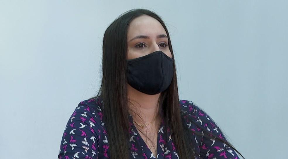 Gabriela Carla da Silva, de 24 anos, testou positivo para CpovidCovid-19 duas vezes em 50 dias em Ribeirão Preto — Foto: Luciano Tolentino/EPTV