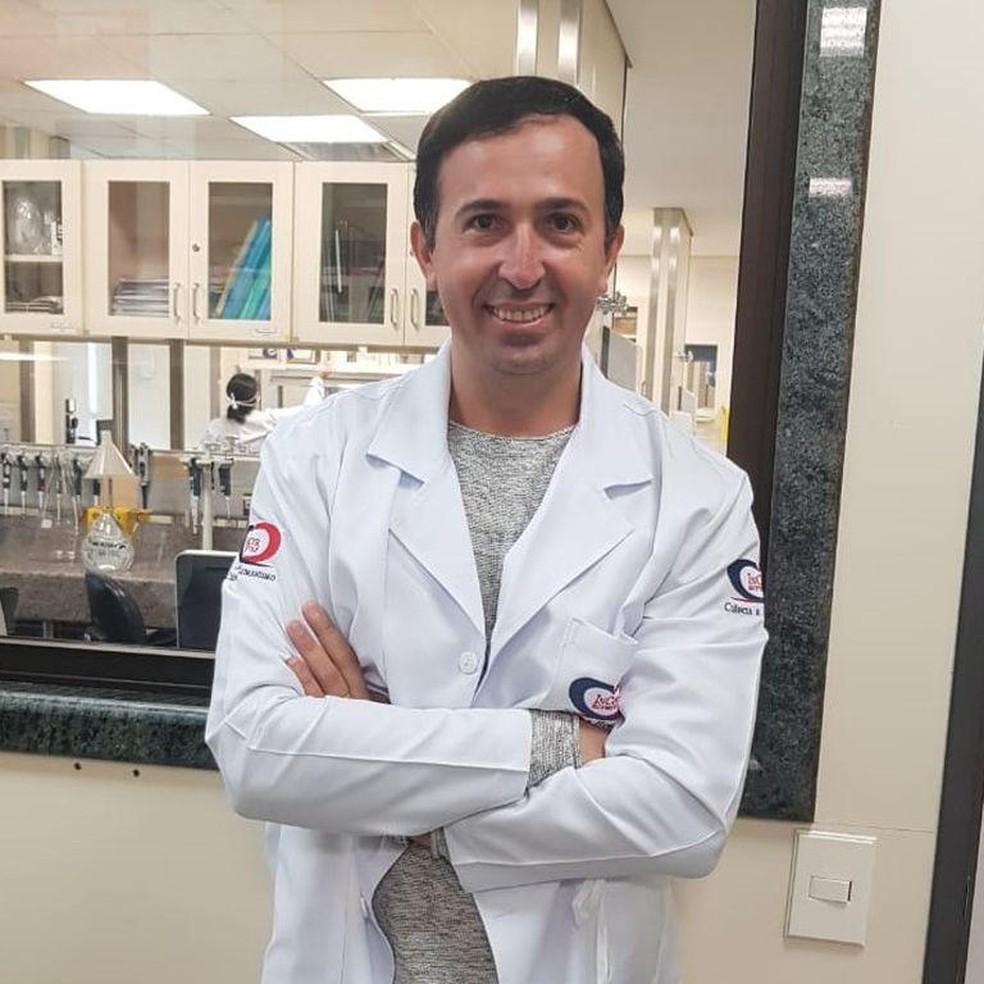 Gustavo Cabral, médico infectologista — Foto: Arquivo pessoal