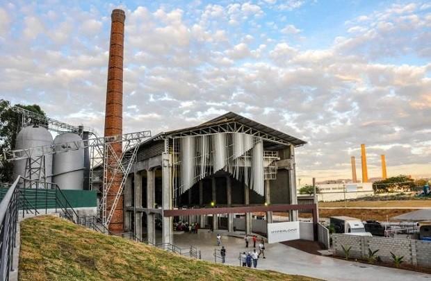 Projeto do centro de inovação do Hyperloop em Contagem (MG) (Foto: Divulgação Hyperloop TT)
