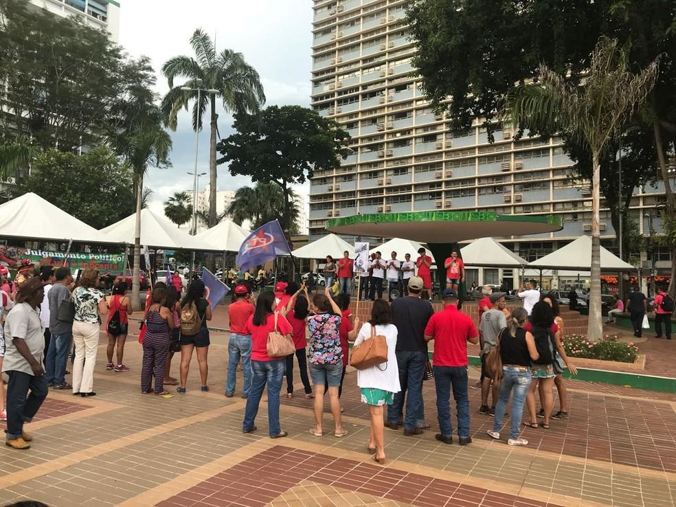 Número de participantes não foi estimado pelos organizadores (Foto: Lislaine dos Anjos/G1)