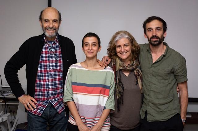 Jorge Bolani, Gabriela Poester, Ana Luiza Azevedo e Julio Andrade (Foto: Fabio Rebelo)