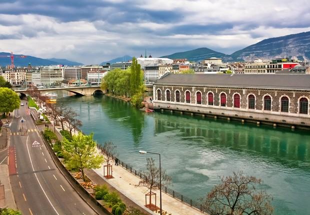 Melhores países: Genebra, Suíça (Foto: Shutterstock)