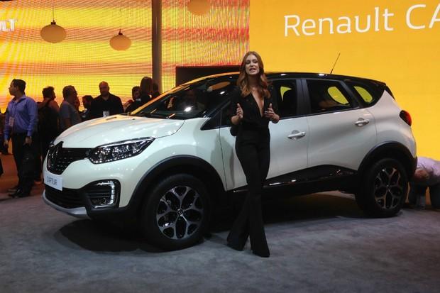 Renault Captur é apresentado no Salão do Automóvel (Foto: Julio Cabral/Autoesporte)