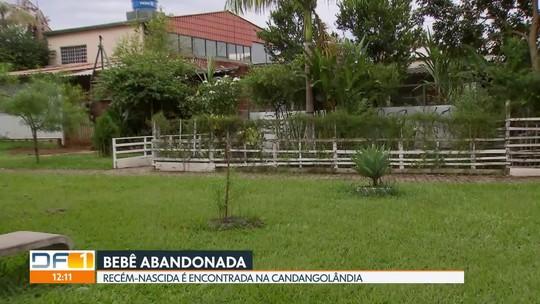 Bebê recém-nascida é abandonada na Candangolândia