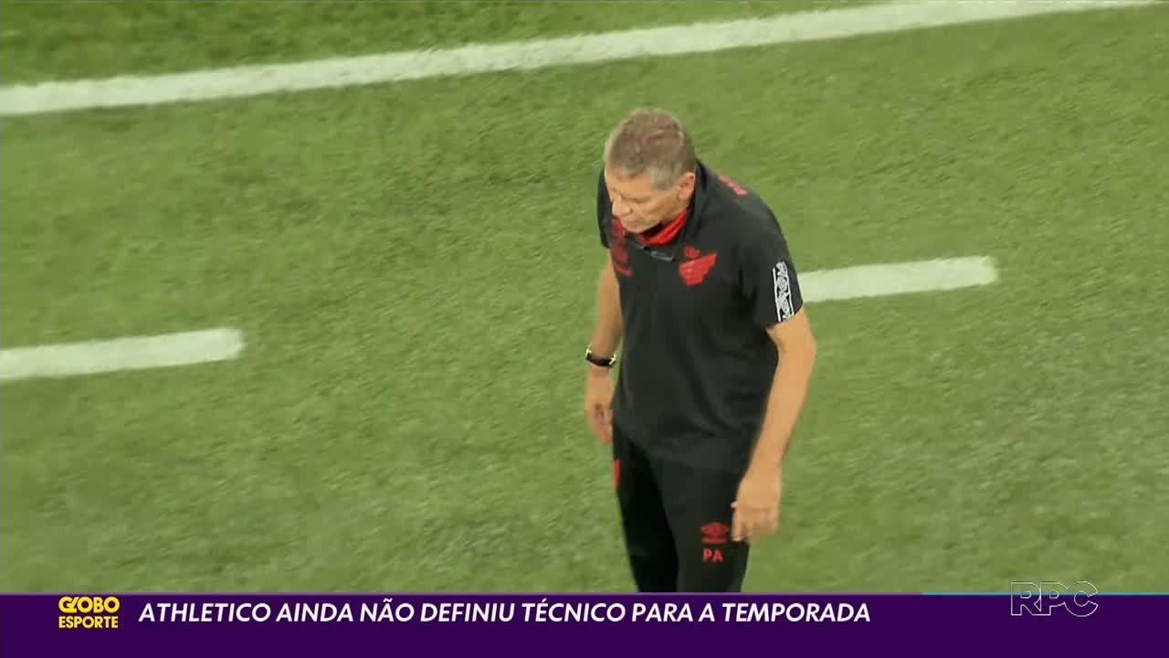 Quando o Athletico vai contratar um técnico?