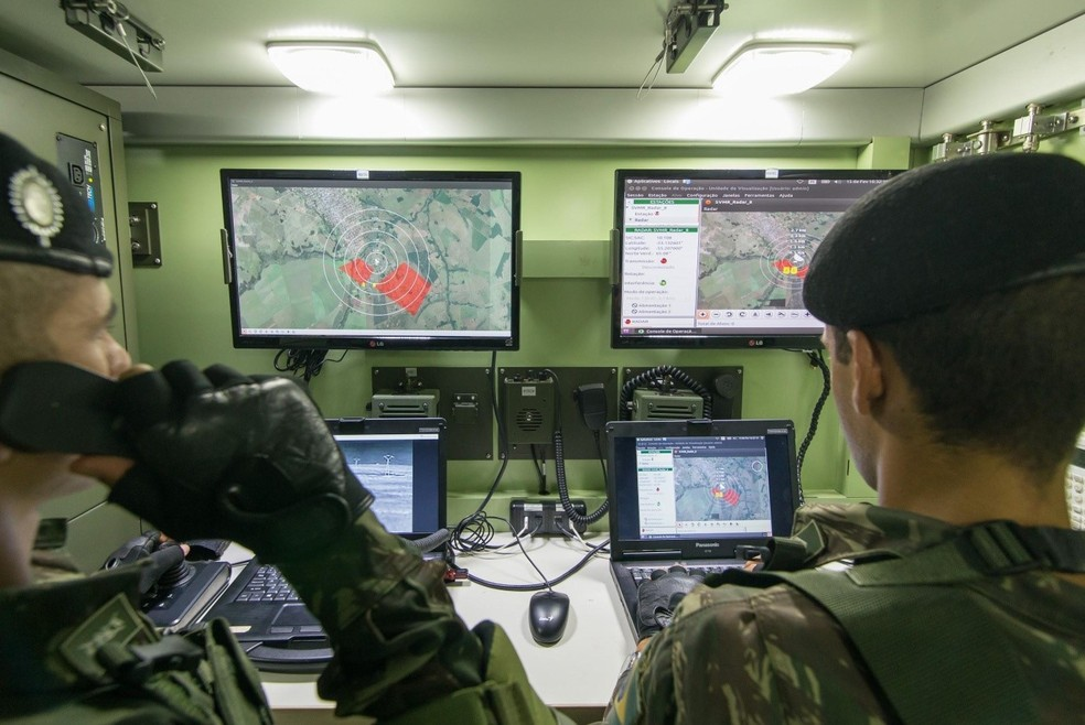 Savis tem tecnologia para equipar centros de comando e controle.  — Foto: Divulgação