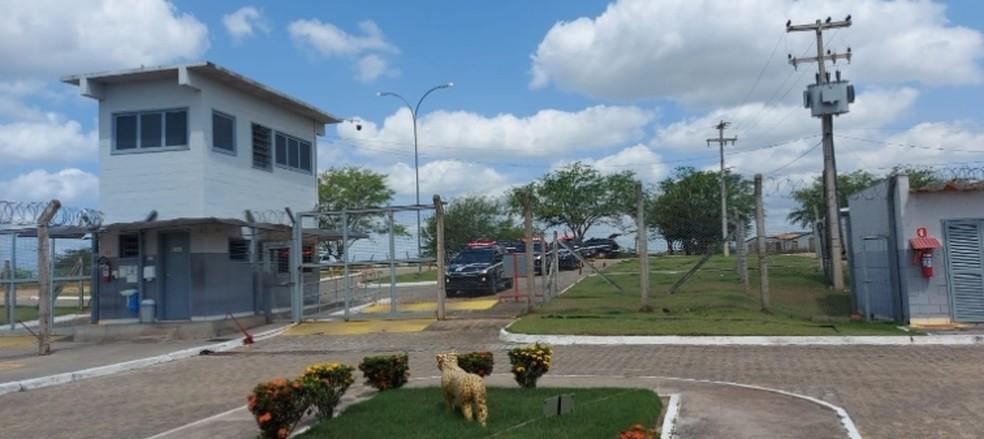 Polícia Penal barra entrada de presos no presídio do Agreste, Alagoas — Foto: Arquivo pessoal