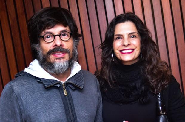 Helena Ranaldi e o marido,  Daniel Alvim (Foto: Leo Franco/AgNews)