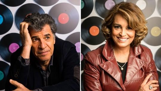 Paulo Betti e Suzy Rêgo comentam parceria em 'Rock Story'