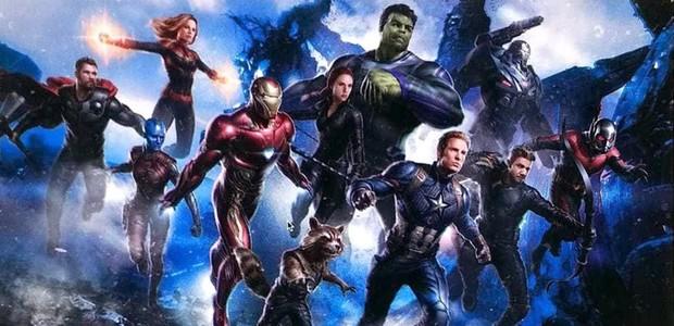 A imagem conceitual vazada de Vingadores 4 (Foto: Reprodução/Twitter)