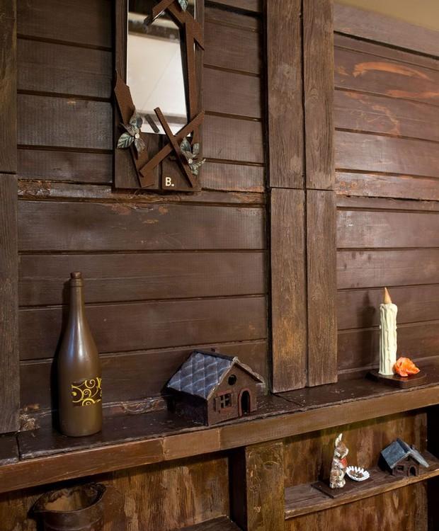 No interior, toda a decoração é comestível (Foto: Booking.com)