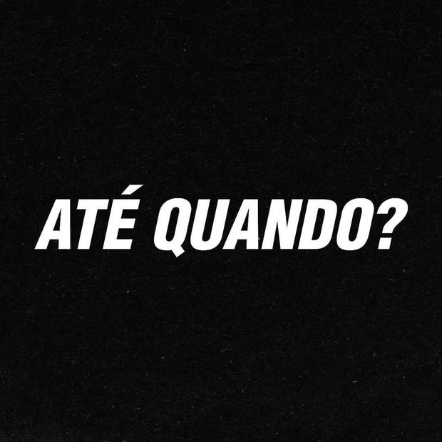 Paolla Oliveira postou desabafo no Instagram (Foto: Reprodução)