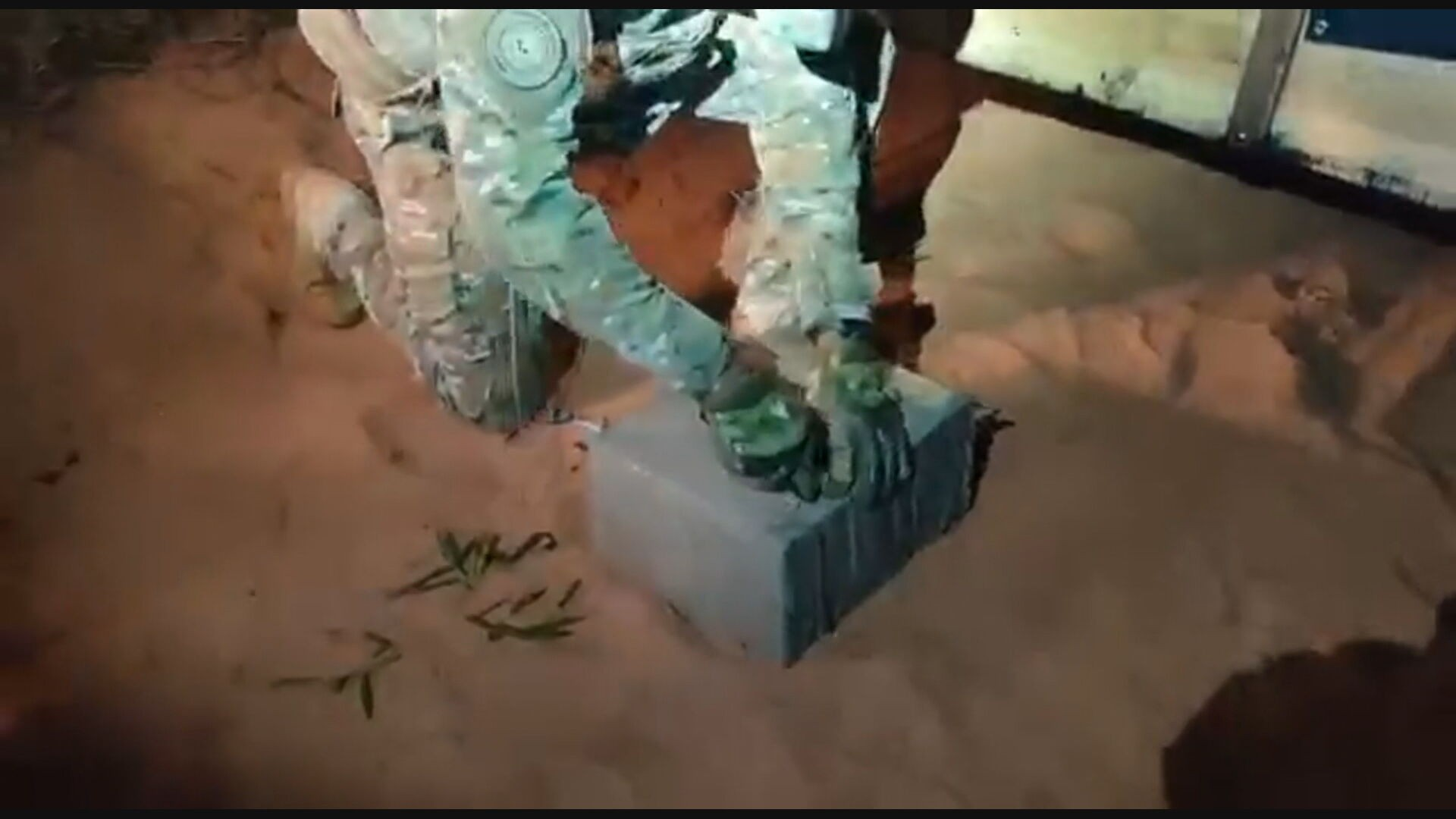 Mais de 2 toneladas de maconha são aprendidas pela PM do DF em Mato Grosso do Sul