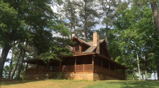A casa fica localizada a 30 minutos de Atlanta, capital da Georgia (Foto: Divulgação)