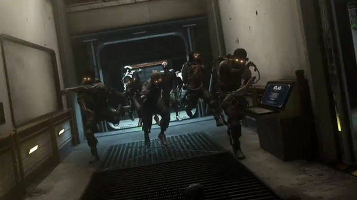 Modo Exo Zombies trará zumbis de volta para Call of Duty: Advanced Warfare, mais mortais do que nunca (Foto: Reprodução: YouTube) (Foto: Modo Exo Zombies trará zumbis de volta para Call of Duty: Advanced Warfare, mais mortais do que nunca (Foto: Reprodução: YouTube))