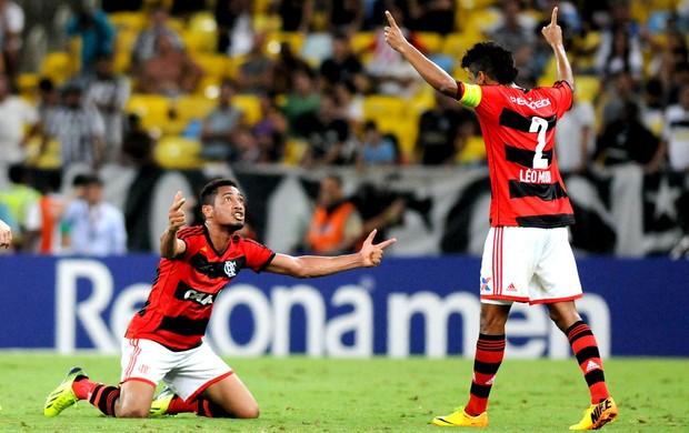 Hernane gol Flamengo jogo Botafogo (Foto: André Durão / Globoesporte.com)