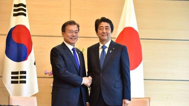 Depois do fim da ocupação japonesa, sul-coreanos e japoneses demoraram 20 anos para reestabelecer as relações (Foto: GETTY IMAGES via BBC)