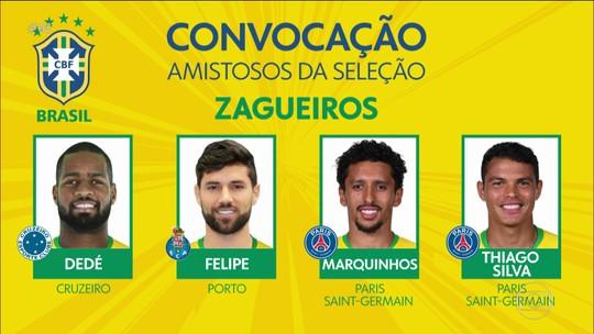 Tite convoca Seleção com novidades para amistosos de setembro