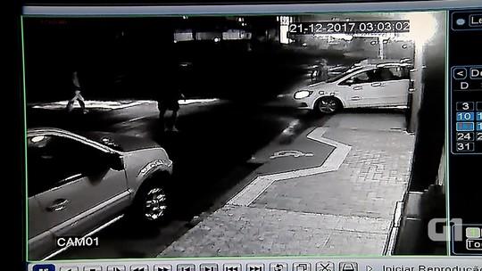 Câmeras flagram arrombamento de lojas em madrugada sem PM em Natal; veja vídeo