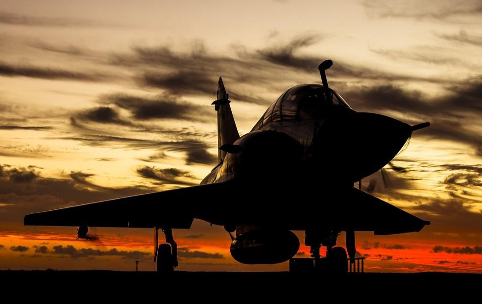 Caças Mirage são mantidos em duas bases da FAB, em Brasília e Anápolis — Foto: Agência Força Aérea/Ten. Enilton/Divulgação
