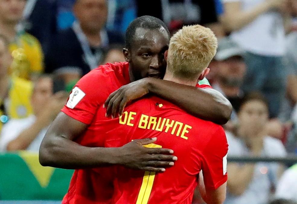 Lukaku e De Bruyne são expoentes do setor ofensivo da Bélgica (Foto: Reuters)