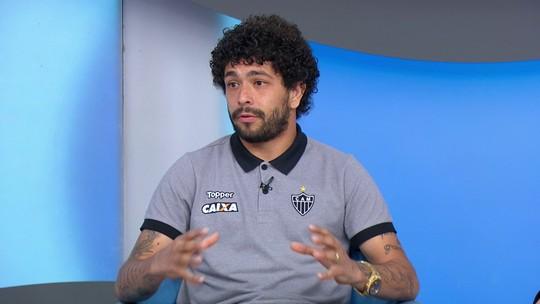 """Luan fala sobre fama de doido e demonstra gratidão ao Atlético-MG: """"Me fez ser o que sou hoje"""""""