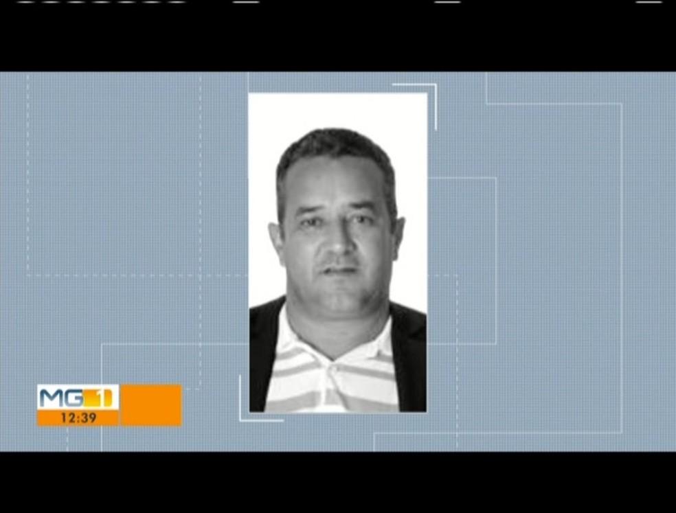 Prefeito Hélio Pinto de Carvalho foi morto a tiros — Foto: Reprodução/Inter TV dos Vales