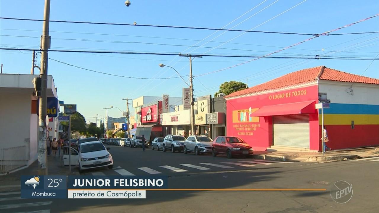 Cosmópolis contraria Plano SP e libera lojas, bares e restaurantes mesmo na fase vermelha