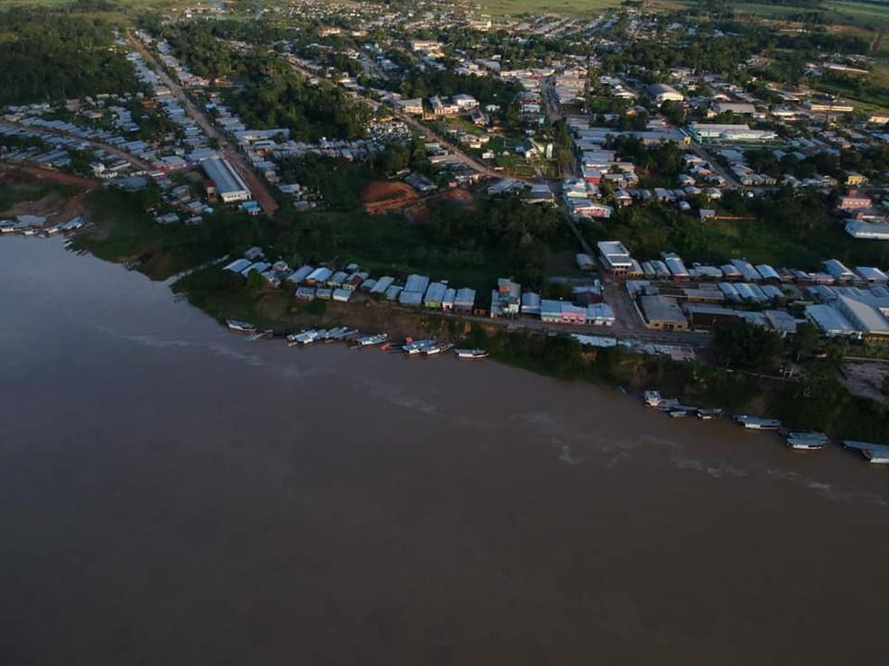 Município de Envira, no interior do Amazonas. — Foto: Reprodução