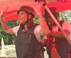 Narcisa Tamborindeguy salta de asa delta  | Divulgação