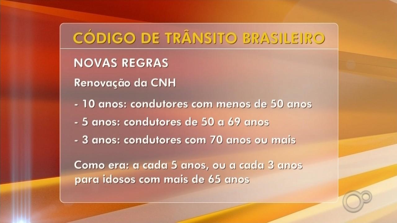 Novas regras do Código de Trânsito Brasileiro mudam pontuação de multas para os motoristas