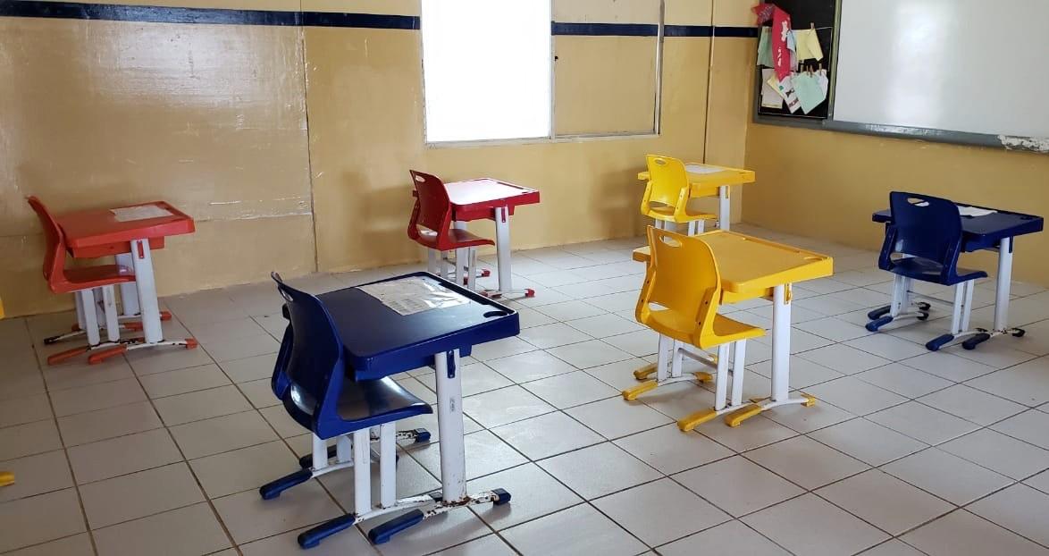 Escola de Fernando de Noronha é a primeira de Pernambuco a retomar aulas presenciais