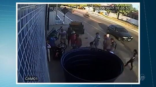 Adolescente atingida por reboque desgovernado em Itarema não se lembra do acidente